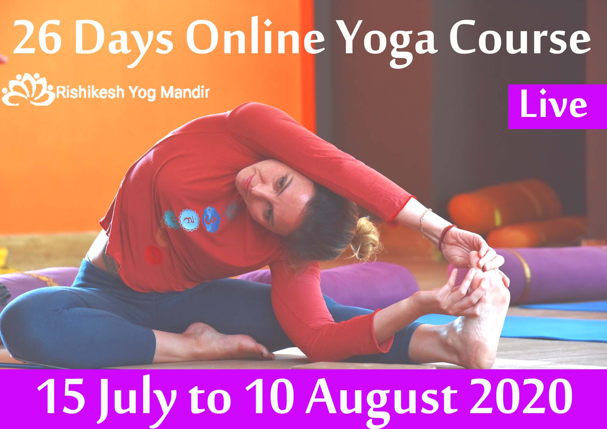 One Month Online Yoga Teacher Training Course In Rishikesh India Training Or Development Class