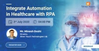 Integrate Automation in Healthcare with RPA