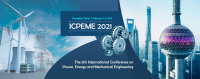 2021 The 5th International Conference on Power, Energy and Mechanical Engineering (ICPEME 2021)
