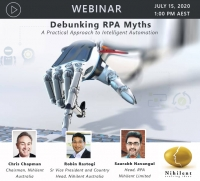 Debunking RPA Myths – A Practical Approach to Intelligent Automation