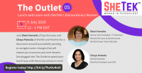 The Outlet  Episode 5: Lunch & Learn with SheTek's Extraordinary Women