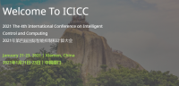 2021 the 4th International Conference on Intelligent Control and Computing (ICICC 2021)