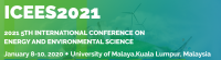 2021 The 5th International Conference on Energy and Environmental Science (ICEES 2021)