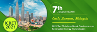 2021 The 7th International Conference on Renewable Energy Technologies (ICRET 2021)