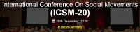 International Conference On Social Movements (ICSM-20)