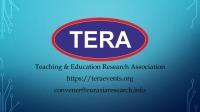 2nd ICTEL 2021 – International Conference on Teaching, Education & Learning, 20-21 February, Dubai