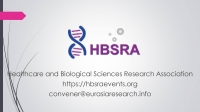 2021 – 4th International Conference on Research in Life-Sciences & Healthcare (ICRLSH), 30 April – 01 May, London