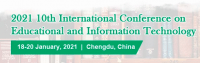 2021 10th International Conference on Educational and Information Technology (ICEIT 2021)