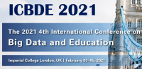 2021 4th International Conference on Big Data and Education (ICBDE 2021)