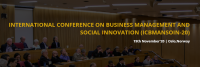 International Conference on Business Management and Social Innovation ICBMANSOIN -20