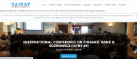 INTERNATIONAL CONFERENCE ON FINANCE, BANK & ECONOMICS (ICFBE-20)