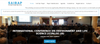 INTERNATIONAL CONFERENCE ON ENVIRONMENT AND LIFE SCIENCE (ICENLISC-20)