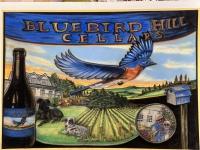 """Thanksgiving in August"" at Bluebird Hill Cellars"