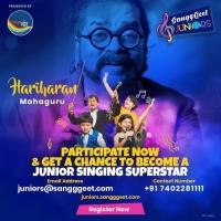 SanggGeet - Juniors Contest 2020 with Hariharan