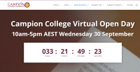 Campion College Virtual Open Day
