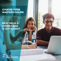 The world of Master's degree opportunities at your doorstep on 16th of September in New Delhi & Hyderabad