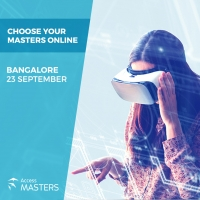 The world of Master's degree opportunities at your doorstep on 23rd of September in Bangalore