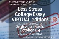 Less Stress College Essay with Sarah Lyman Kravits