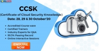Certificate of Cloud Security Knowledge by Novelvista