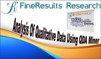 Analysis Of Qualitative Data Using QDA Miner