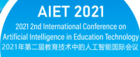 2021 2nd International Conference on Artificial Intelligence in Education Technology (AIET 2021)