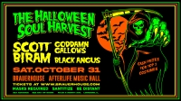 The Halloween Soul Harvest W/ Scoot Biram and Goddamn Gallows