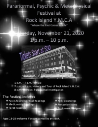 Paranormal, Psychic and Metaphysical Festival at the Rock Island YMCA