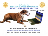 Rotary Club of Mariposa Yosemite Scholarship Auction