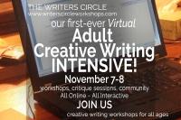 Virtual Adult Creative Writing Weekend Intensive