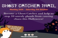 Join the Ghost Catcher Trail at The Mall Wood Green this Half-Term!
