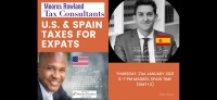 Webinar on U.S. /SPAIN TAXES FOR EXPATS (Madrid, Spain Time)