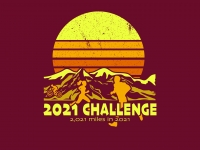 2021 Challenge ~ 2,021 Miles in 2021!
