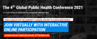 The 4th Global Public Health Virtual Conference 2021 – (GlobeHeal 2021)