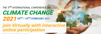 The 5th International Virtual Conference on Climate Change 2021 – (ICCC 2021)