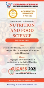 Nutrition and Food Science International Conference 2021