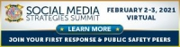 Social Media Strategies Summit - First Responders | Virtual Conference