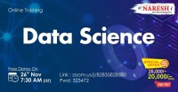 Data Science Online Training Demo on 26th November @ 7.30 AM (IST) By Real-time Expert.