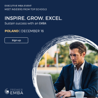 Inspire. Grow. Excel. Move Your Leadership Forward with the Executive MBA