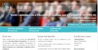 World Conference on e-Education, e-Business and e-Commerce