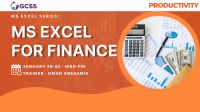 MS Excel For Finance