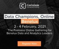 Data Champions, Online- Benelux 2021