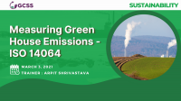 Measuring Green House Emissions - ISO 14064