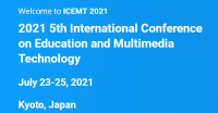2021 5th International Conference on Education and Multimedia Technology (ICEMT 2021)