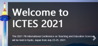 2021 The 7th International Conference on Teaching and Education Sciences (ICTES 2021)