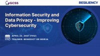 Information Security and Data Privacy - Improving Cybersecurity