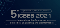2021 5th International Conference on Biomedical Engineering and Bioinformatics (ICBEB 2021)