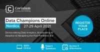 Data Champions Online - Nordics   27-29 April