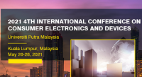 2021 4th International Conference on Consumer Electronics and Devices (ICCED 2021)