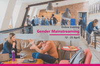 """Online training course """"Gender Mainstreaming"""" 12 – 23 April 2021"""