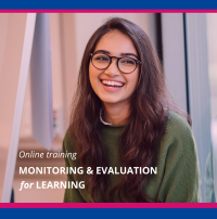 """Online training course """"Monitoring & Evaluation for Learning"""" 24 May – 3 June 2021"""